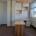 Schreibtisch in Massivholz Esche, weißes Praxismöbel